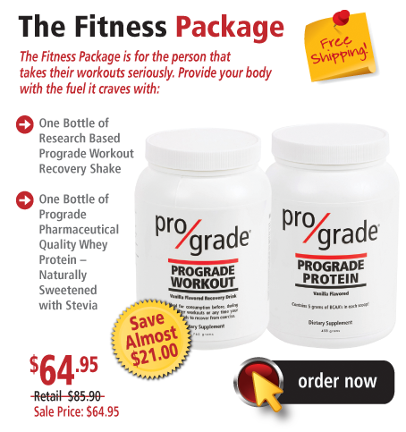Prograde Combo Packs - The Fitness Package.
