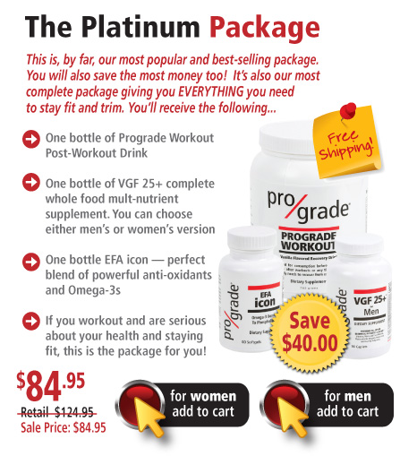 Prograde Combo Packs - The Platinum Package.